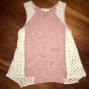 Umgee sleeveless blouse